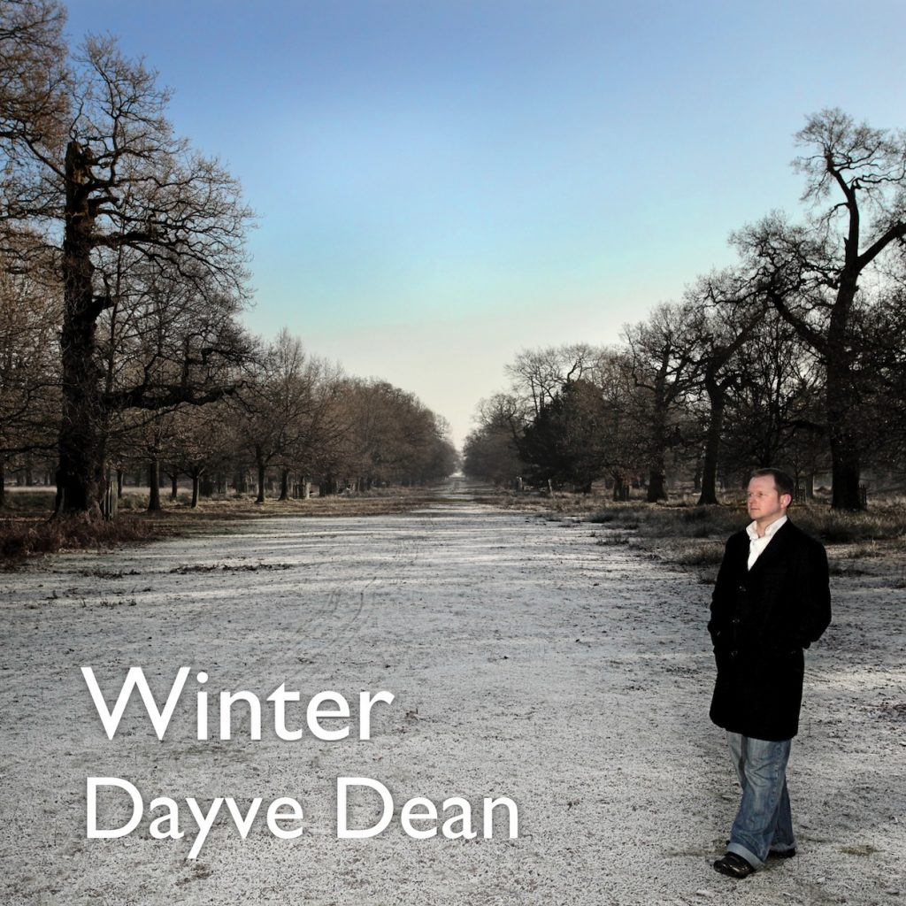 Cover artwork for the album Winter by Dayve Dean